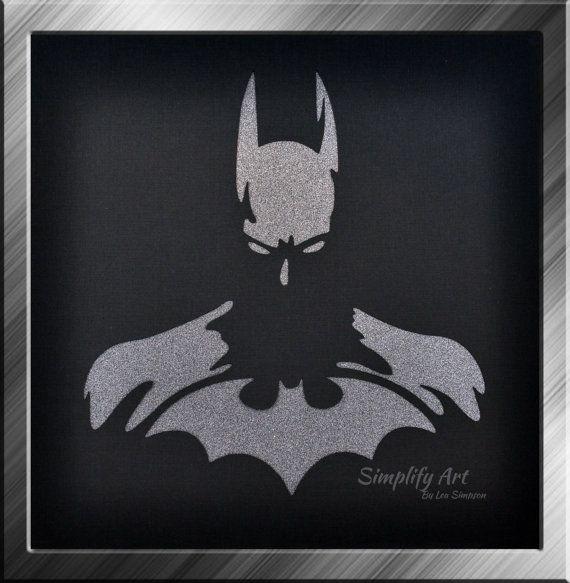 Batman Wall Art Super Hero Justice League Silhouette Wall Art With Regard To Batman Wall Art (Image 11 of 20)