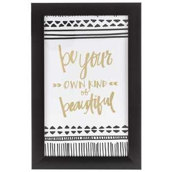Be Your Own Kind Of Beautiful Framed Wall Decor | Hobby Lobby | 1125251 Inside Be Your Own Kind Of Beautiful Wall Art (Image 1 of 10)