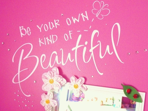 Be Your Own Kind Of Beautiful Wall Decal – Trading Phrases In Be Your Own Kind Of Beautiful Wall Art (Image 5 of 10)