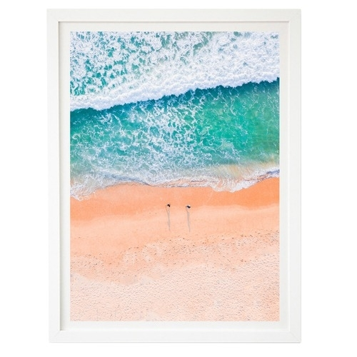 Beach & Ocean Framed Wall Art | Temple & Webster Inside Ocean Wall Art (Image 6 of 25)