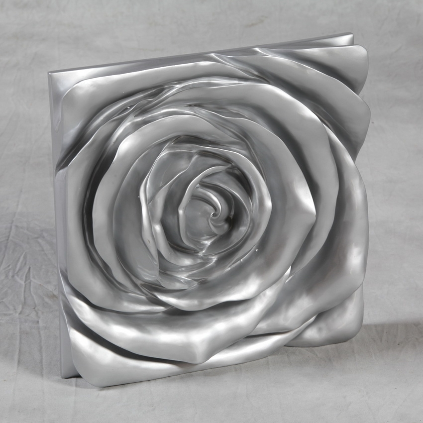 Beautiful Shabby Chic Wall Decor : Hot Home Decor – Beautiful Silver With Regard To Silver Wall Art (Image 2 of 20)