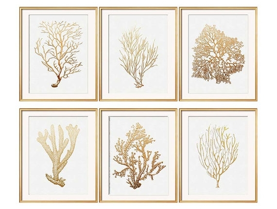 Bedroom Decor | My Room | Pinterest | Coral Art, Coral Print And Art For Coral Wall Art (Image 1 of 25)