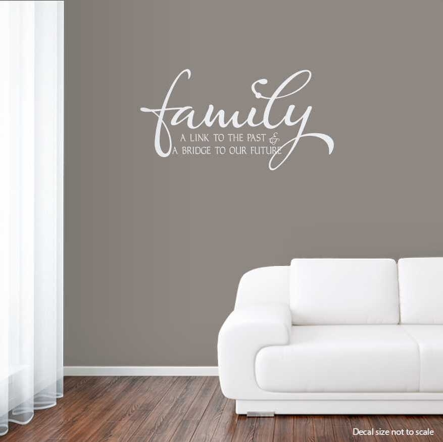 Benefits Of Wall Art Decals – Bellissimainteriors Pertaining To Family Wall Art (View 7 of 10)
