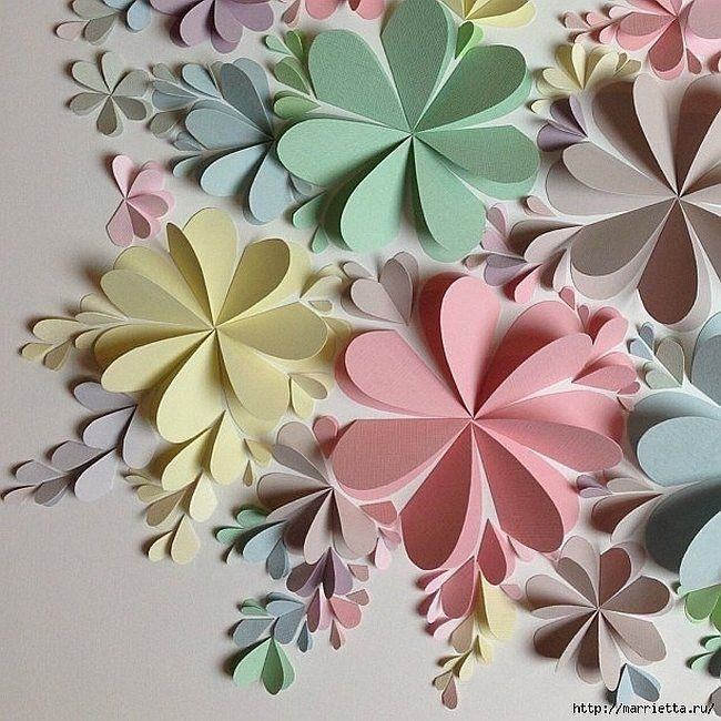 Best 25 Wall Decoration With Paper Ideas Only On Pinterest Creative With Paper Wall Art (View 16 of 25)