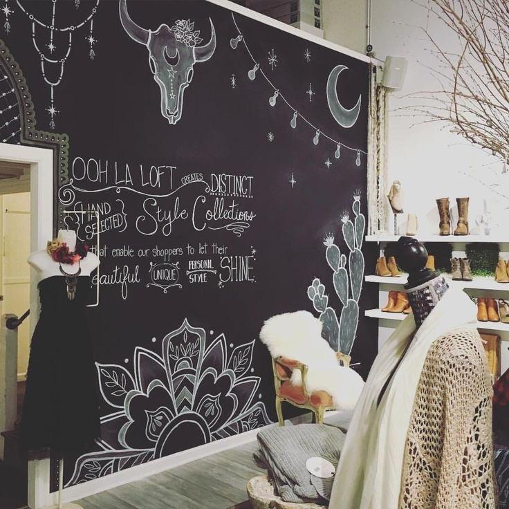 Best Chalk Art Images On Pinterest Fresh Chalkboard Wall Decor Of Throughout Chalkboard Wall Art (Image 2 of 25)