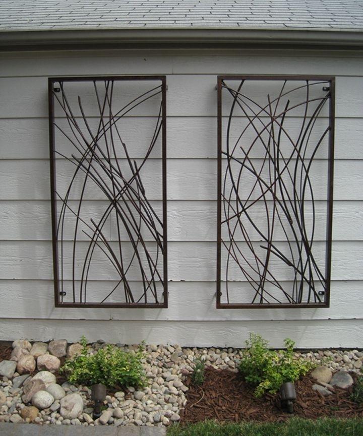 Best Designs For Outdoor Wall Art: Custom Outdoor Wall Art Design With Outdoor Wall Art (View 2 of 10)