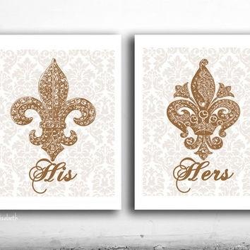 Best Fleur De Lis Wall Art Products On Wanelo Regarding Fleur De Lis Wall Art (Image 3 of 25)