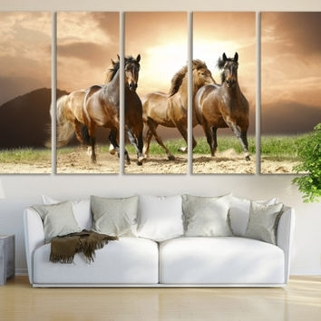 Best Giclee Horse Art Products On Wanelo With Western Wall Art (Image 4 of 25)