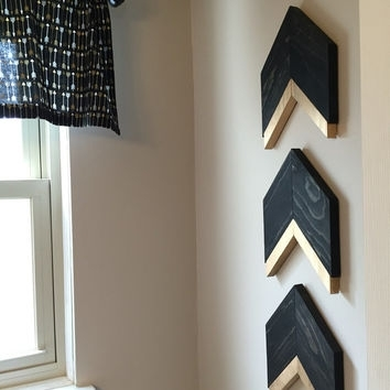 Best Gold Chevron Wall Art Products On Wanelo In Chevron Wall Art (Image 2 of 25)