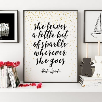 Best Kate Spade Art Prints Products On Wanelo Throughout Kate Spade Wall Art (Image 3 of 20)