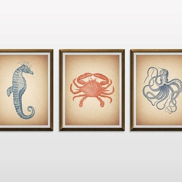 Best Sea Life Nursery Products On Wanelo pertaining to Sea Life Wall Art