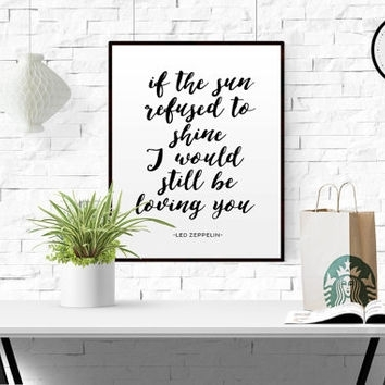 Featured Photo of Song Lyric Wall Art