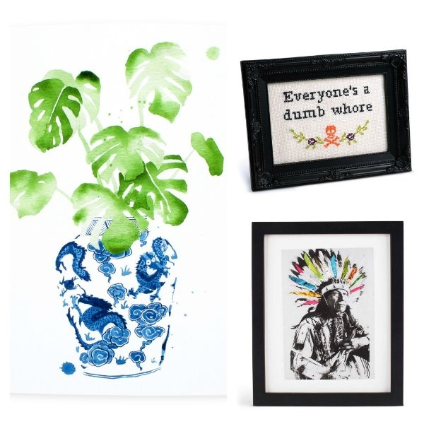 Best Sources For Affordable Wall Art And Favorites Under $50 Throughout Affordable Wall Art (Image 10 of 25)