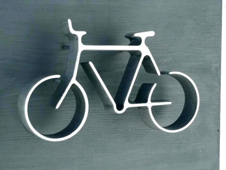 Bicycle Wall Art Jute Wall Decor – Habitanti (Image 8 of 20)