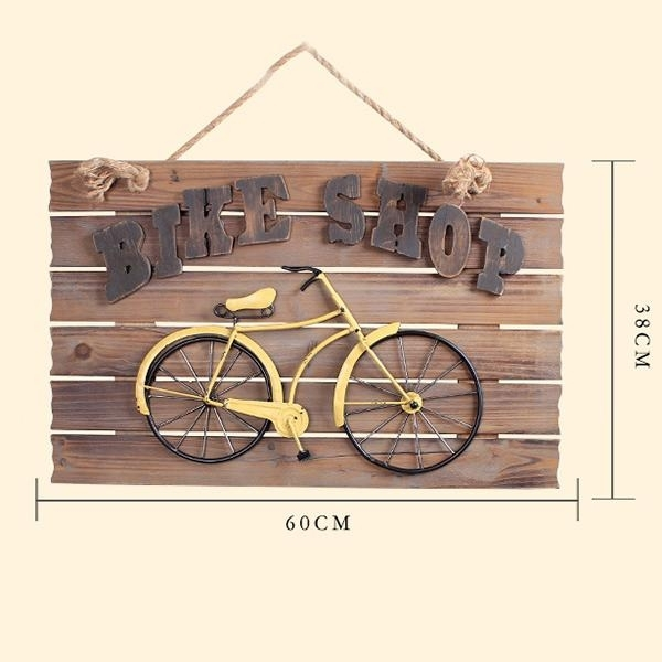 Bicycle Wall Hanging Designs Vintage Handmade Wall Hanging Wall Art Pertaining To Bicycle Wall Art (Image 10 of 20)