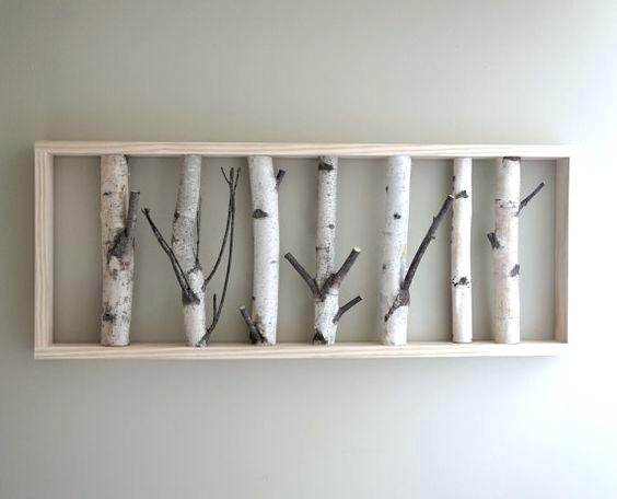 Birch Tree Wall Decor Wall Art Designs Birch Tree Wall Art The White With Birch Tree Wall Art (View 5 of 25)