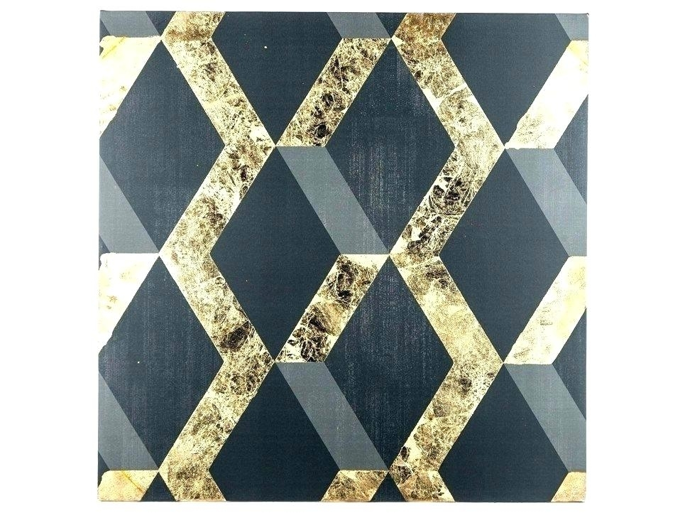 Black And Gold Wall Art Gold Wall Art For Bedroom White And Gold For Black And Gold Wall Art (Image 11 of 25)
