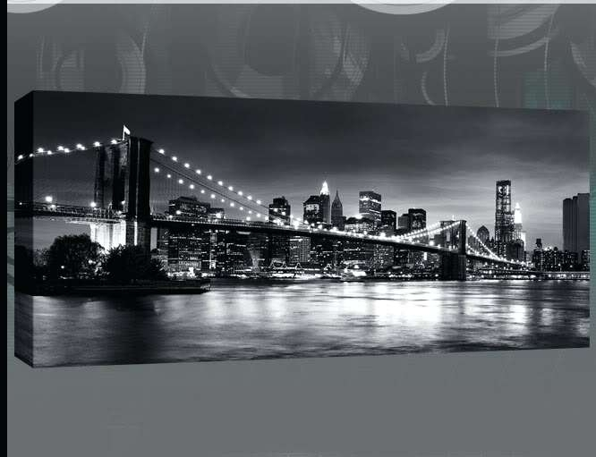 Black And White Wall Art Canvas Black And White Canvas Wall Art In Black And White Large Canvas Wall Art (Image 5 of 25)