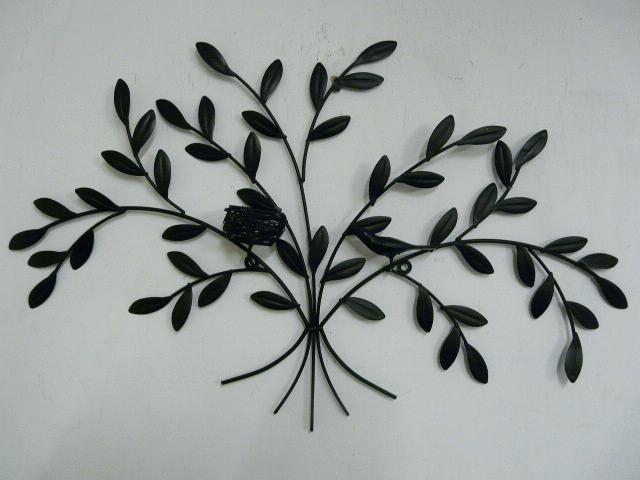 Black Iron Wall Decor Stunning Impressive Wrought Iron Wall Decor For Black Metal Wall Art (Image 3 of 25)