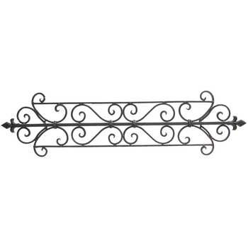 Black Metal Scroll Wall Decor | Stuff For The Home | Pinterest Intended For Metal Scroll Wall Art (Image 3 of 20)