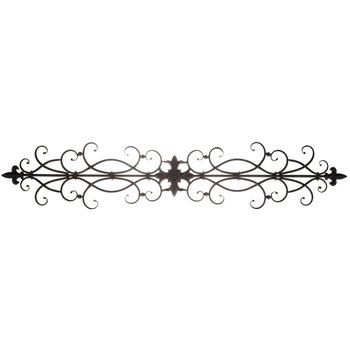 Black Scroll Metal Wall Decor | Home Decor | Pinterest | Metal Walls Within Metal Scroll Wall Art (View 7 of 20)