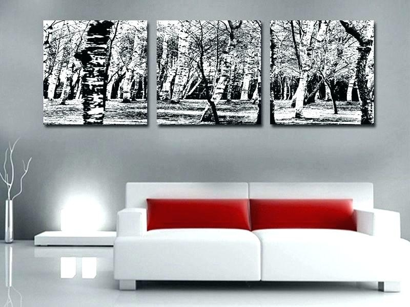 Featured Image of Black And White Large Canvas Wall Art