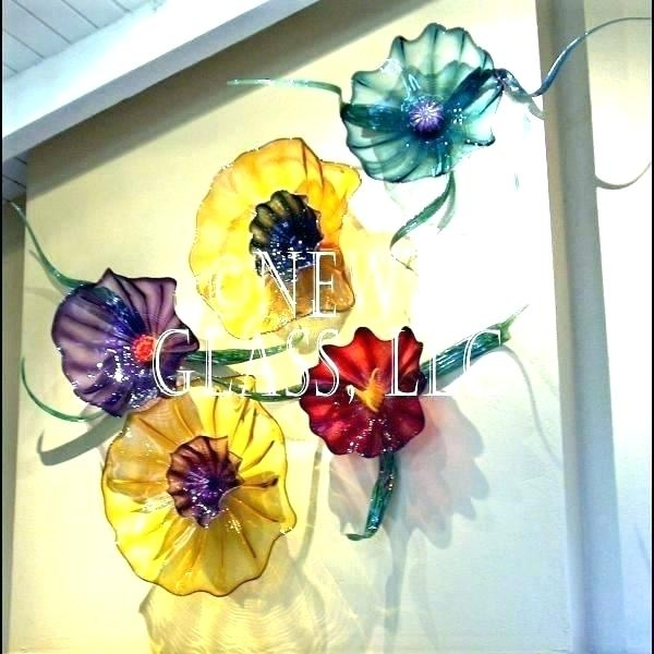 Blown Glass Art For Sale Blown Glass Art For Sale Glass Blown Wall Within Blown Glass Wall Art (Image 3 of 25)