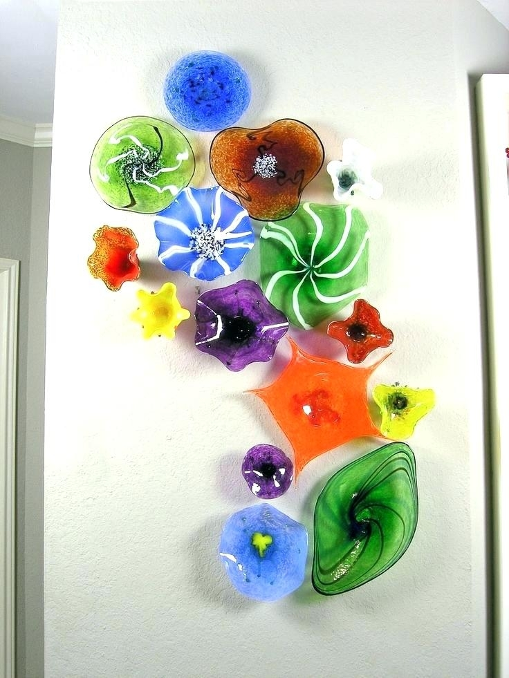 Blown Glass Plates Decorative Glass Plate Wall Art Best Of Glass Pertaining To Glass Plate Wall Art (View 5 of 20)