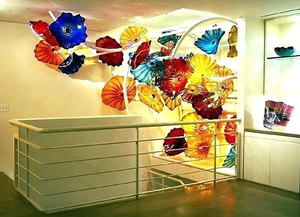 Blown Glass Plates Glass Plate Wall Art Wall Glass Plates Wall Art Within Glass Plate Wall Art (View 6 of 20)