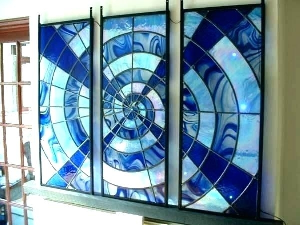 Blown Glass Wall Art Glass Wall Art Glass Art Wall Decor Glass Wall Intended For Stained Glass Wall Art (View 2 of 25)