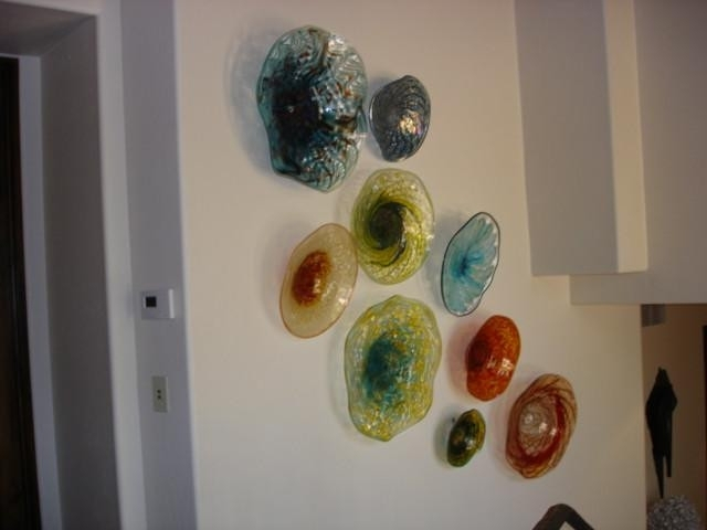 Blown Glass Wall Art Installations Lowery S Hot Inside Blown Glass Wall Art (Image 7 of 25)