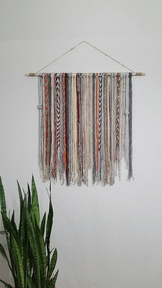 Featured Image of Yarn Wall Art
