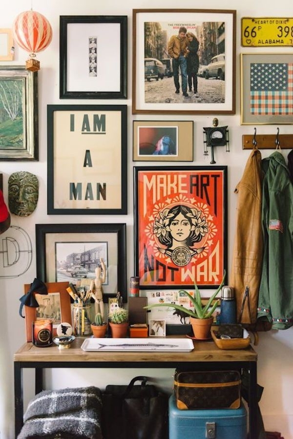 Boho Style Decorating: How To Get The Look | Home Decor | Pinterest Pertaining To Bohemian Wall Art (Image 10 of 25)