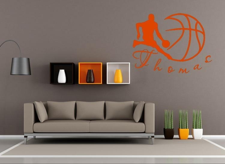 Featured Photo of Basketball Wall Art