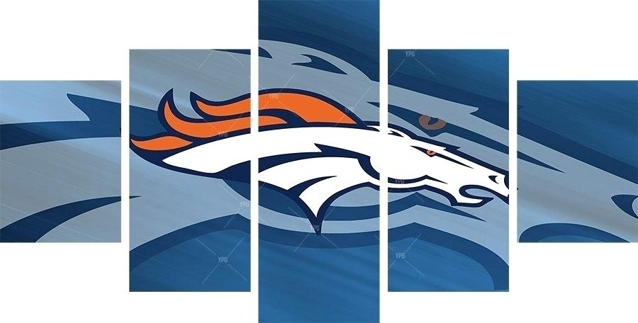 Broncos Wall Art – Craigcrobinson (Image 4 of 20)