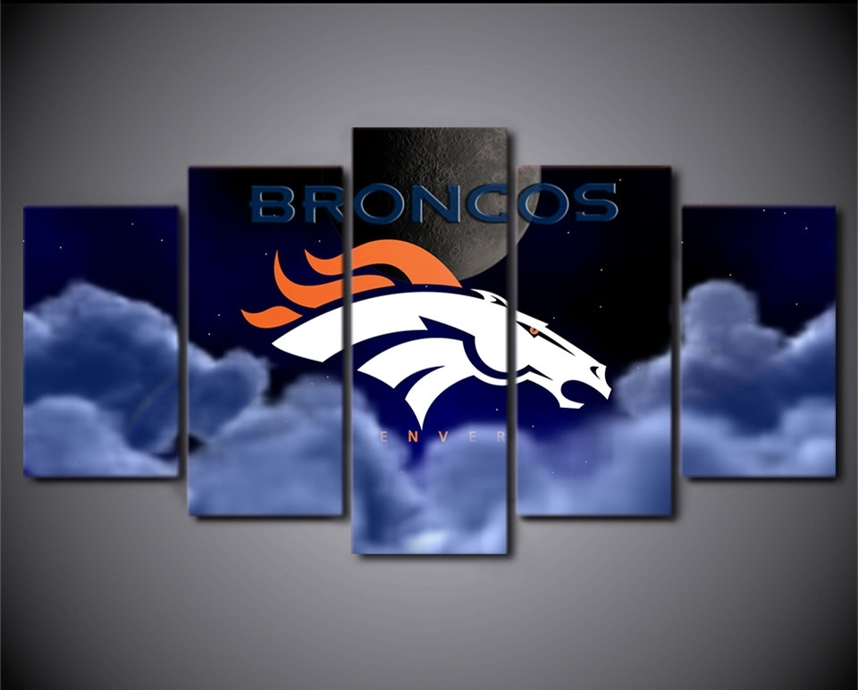 Broncos Wall Art Rs (Image 7 of 20)