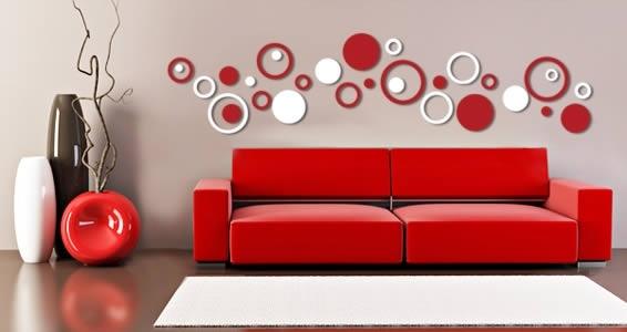 Bubbly Circles Wall Epic Circle Wall Art – Wall Decoration Ideas With Regard To Circle Wall Art (Image 6 of 25)