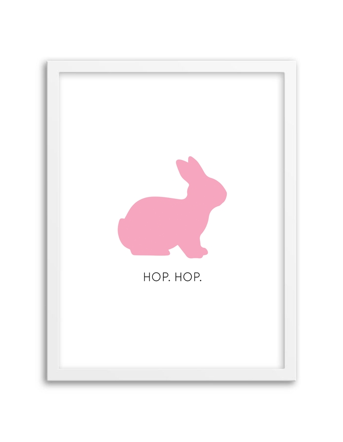Bunny Wall Art – Chicfetti With Free Printable Wall Art (View 17 of 20)
