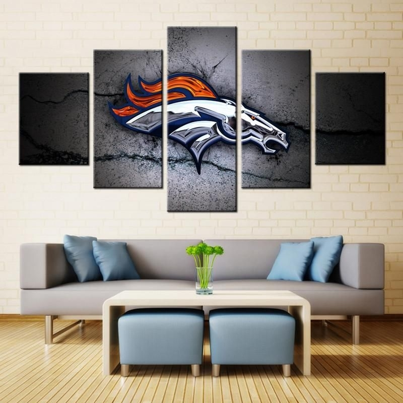Buy Denver Broncos Wall Art At Findrly For Only $ (Image 9 of 20)