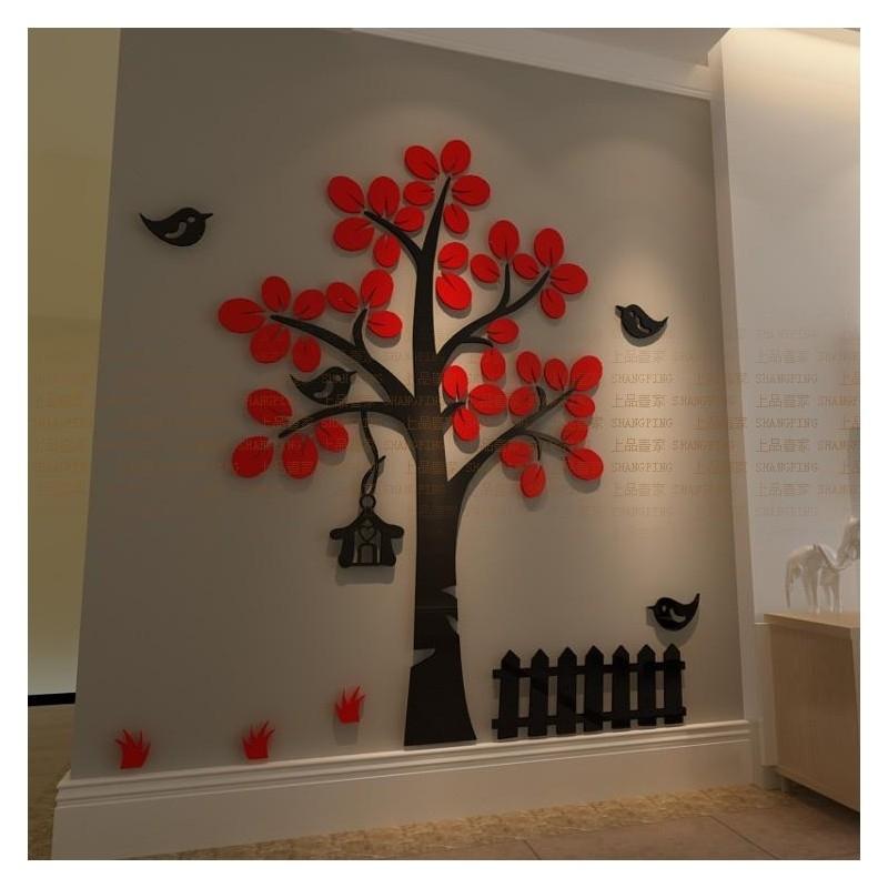 Buy Tree Shape Acrylic Wall Art At | Elifor (Image 12 of 25)