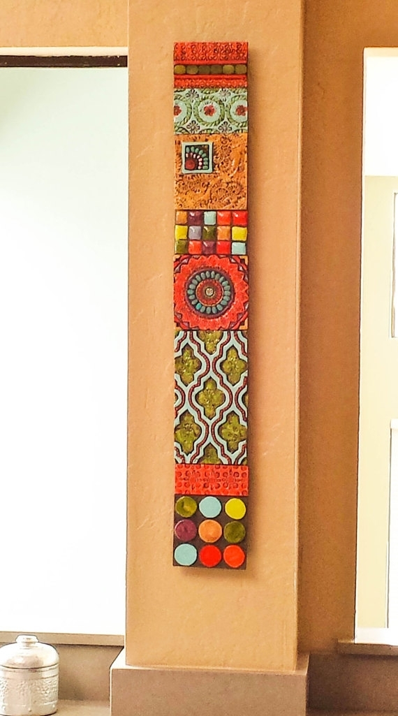 Cafaebb Cute Vertical Best Wall Art Vertical – Wall Decoration Ideas In Vertical Wall Art (Image 6 of 20)