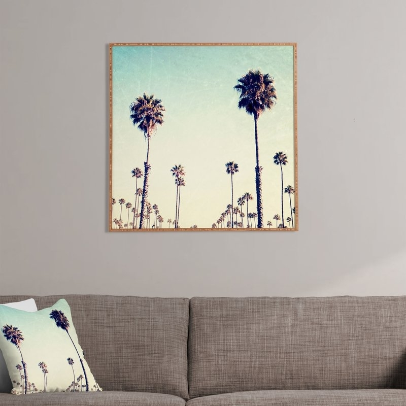 California Palm Trees Framed Wall Art & Reviews | Joss & Main With Regard To Framed Wall Art (View 4 of 10)