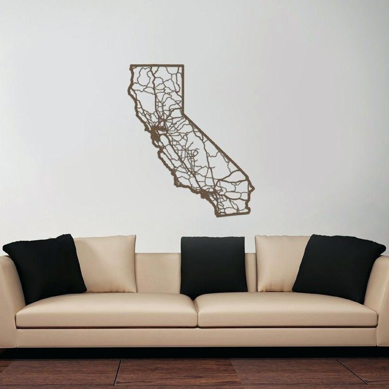 California Wall Art Flag – Armistead Intended For California Wall Art (View 2 of 20)