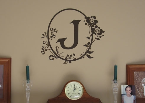 Cameo Wall Monogram Fabulous Monogram Wall Decor – Wall Decoration Ideas In Monogram Wall Art (Image 5 of 25)