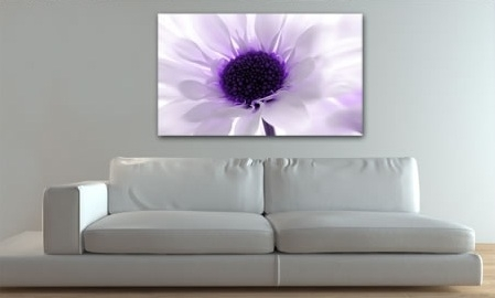 Canvas Art Prints Canvas Wall Art Wall Pictures Within Purple And Grey Wall Art (Image 6 of 25)