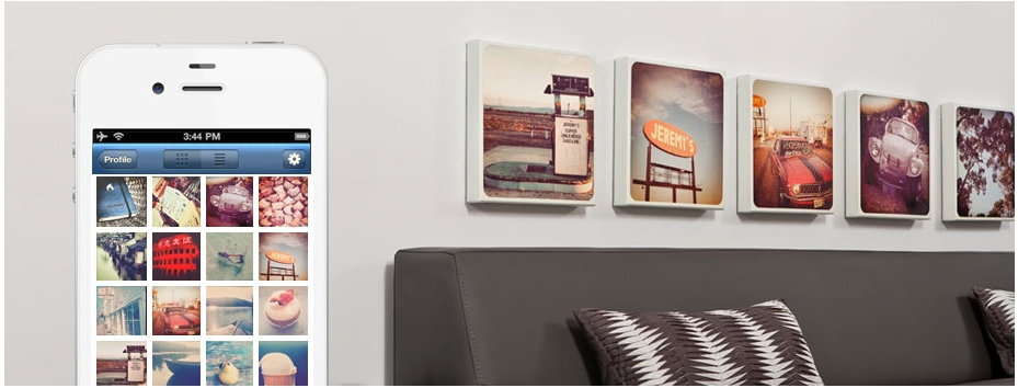 Canvaspop Partners With Instagram To Make Wall Art | Vatornews Inside Instagram Wall Art (Image 1 of 20)