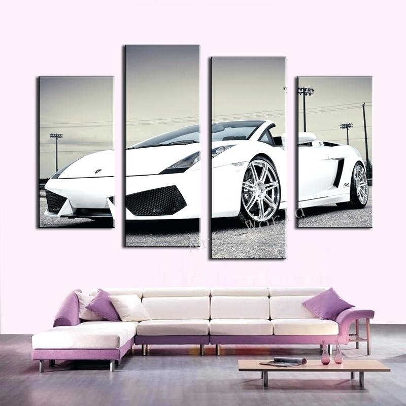 Car Wall Art Vintage Car Wall Art Vintage Cars Wall Art Painting Regarding Car Canvas Wall Art (View 13 of 25)