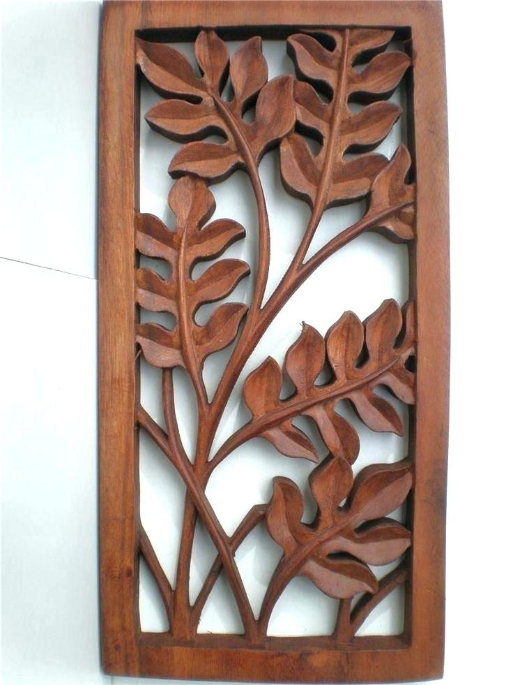 Carved Wall Decor Carved Wood Wall Decor Best Decorative Wall Panels Inside Wood Carved Wall Art (View 16 of 25)