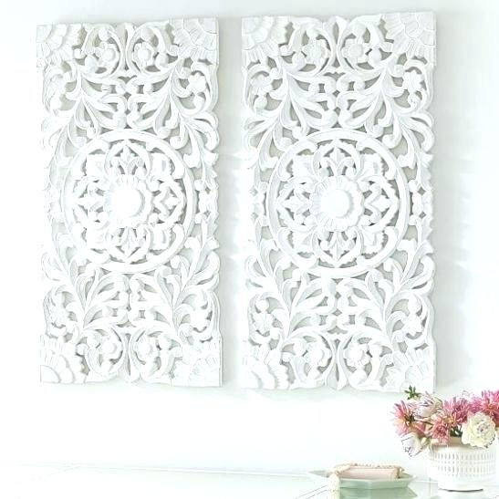 Carved Wood Wall Art Panels Carved Medallion Wall Art Best Carved In Wood Medallion Wall Art (Image 1 of 25)