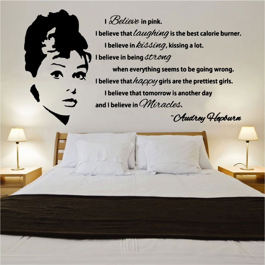 Celebertys Famous Quotes Vinyl Wall Art » Shop » Home Inside Wall Art Quotes (View 20 of 20)